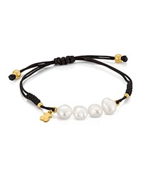 Tous Cultured Freshwater Pearl Bracelet Gold