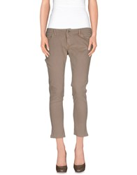 Individual Trousers Casual Trousers Women Khaki