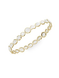 Ippolita Polished Rock Candy Mother Of Pearl And 18K Yellow Gold Bangle Bracelet
