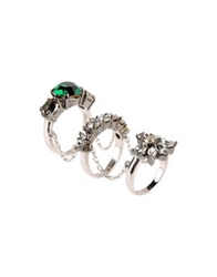 Shourouk Rings Green