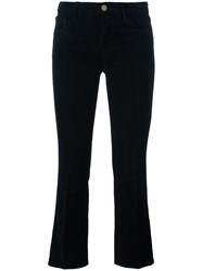 J Brand Cropped Trousers Black