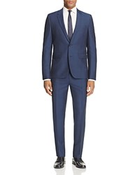 Hugo Astian Hets Slim Fit Suit Medium Blue