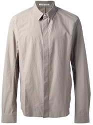 Individual Sentiments Collared Shirt Nude And Neutrals