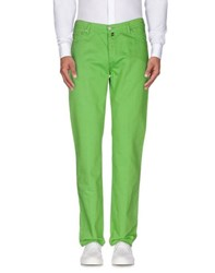 Marco Pescarolo Trousers Casual Trousers Men Acid Green
