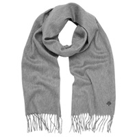 Mulberry Cashmere Scarf Marl Grey