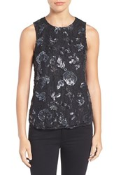Cooper And Ella Women's Avery Sequin Lace Tank