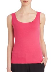 Michael Kors Fitted Cashmere Tank Peony Grey