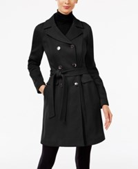 Inc International Concepts Double Breasted Car Coat Only At Macy's Deep Black