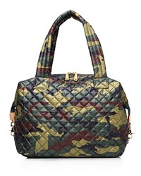 M Z Wallace Mz Wallace Large Sutton Satchel Quilted Camo