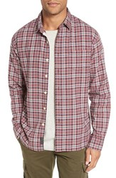 Grayers Men's Oscar Trim Fit Plaid Oxford Sport Shirt