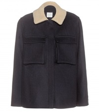 Wood Wood Melissa Wool Blend Jacket Blue