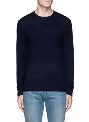Theory Donners C' Cashmere Sweater Blue