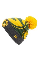 Men's New Era Cap 'Logo Whiz Green Bay Packers' Pompom Knit Beanie