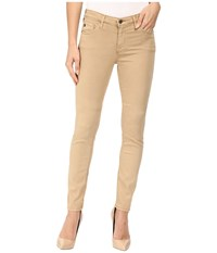 Ag Adriano Goldschmied Prima In Sulfur Toasted Umber Sulfur Toasted Umber Women's Jeans Beige