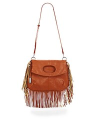 Urban Originals Style Icon Fringe Satchel Tan