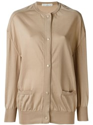 Golden Goose Deluxe Brand Oversized Cardigan Nude And Neutrals