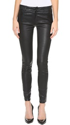 Paige Verdugo Leather Pants Black
