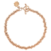 Dower And Hall Small Nomad Nugget Vermeil Bracelet Rose Gold