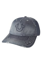 Men's True Religion Brand Jeans 'Distressed Horseshoe' Baseball Cap