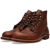 Red Wing Shoes Red Wing 8111 Heritage 6' Iron Ranger Boot Amber Harness