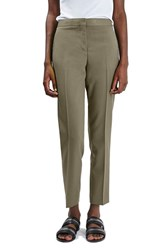 Topshop Women's Crop Fitted Trousers