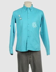 Westport Long Sleeve Shirts Turquoise