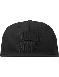 Hall Of Fame Black City Cap