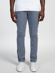 Scotch And Soda Dyed Slim Fit Stretch Chinos Blue Steel
