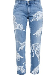 Stella Mccartney 'Wild Cat' Jeans Blue