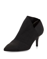 Adrianna Papell Heather Pointed Toe Elastic Bootie Black