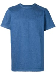 Blood Brother Denim T Shirt Blue