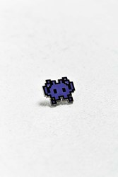 Pintrill Invader Pin Purple