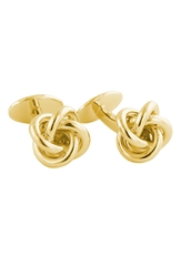 David Donahue Knot Cuff Links Gold