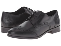 Cole Haan Jagger Wingtip Oxford Black Women's Lace Up Wing Tip Shoes