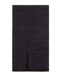 Bloomingdale's The Men's Store At Textured Space Dye Scarf Navy Black