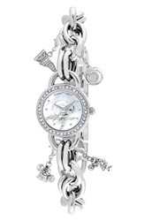 Game Time 'College The University Of Southern Mississippi' Charm Bracelet Watch 23Mm Southrn Mississippi State