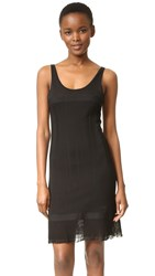 Wgaca Chanel Sleeveless Dress Previously Owned Black