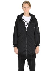 Boy By Boy London Oversized Quilted Nylon Jacket