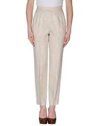 Diana Gallesi Casual Pants Light Grey