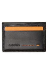 Magnanni 'Ibero' Leather Card Holder Black