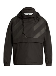 Moncler O Donville Contrast Panel Jacket Black Multi