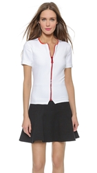 Preen Terence Top White