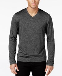 Alfani Men's Big And Tall Performance V Neck Long Sleeve T Shirt Only At Macy's Kettle