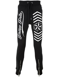 Philipp Plein 'Look At You' Track Pants Black