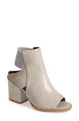 Sixtyseven 'Polly' Open Toe Bootie Women Taupe