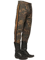 Faith Connexion Camo Printed Cotton Jogging Pants