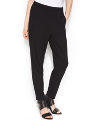 Eileen Fisher Pull On Tapered Soft Ankle Pants