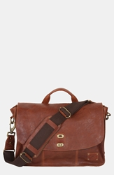 Will Leather Goods 'Kent' Messenger Bag Cognac