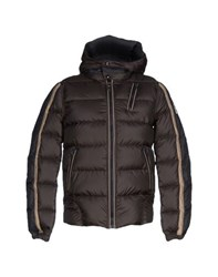 Club Des Sports Coats And Jackets Down Jackets Men Dark Brown