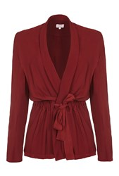 Ghost Eleanor Jacket Russet Red